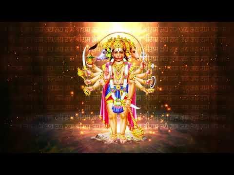 Shri Hanuman ji animated Background 2 : by laurel productions