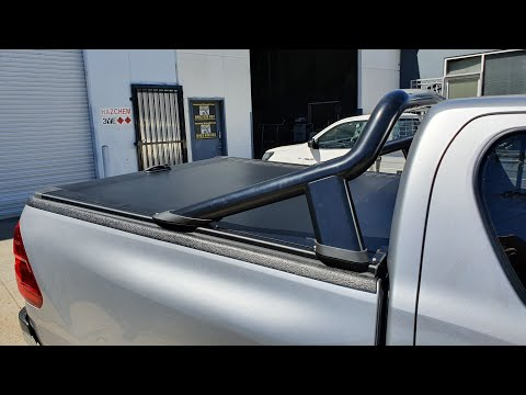 Toyota Hilux Revo With Tub Liner Roller Cover Installation Guide Video