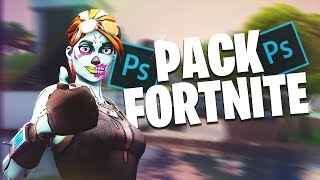 [KOSTENLOS] FORTNITE THUMBNAIL/GFX PACK (Photoshop) | HippoClasher