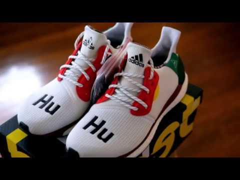Pharrell Williams X adidas Solar HU Glide St Zapatos Details) (Unboxing / Details) Zapatos bfd062