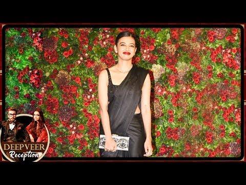 Radhika Apte Arrives With Husband Benedict Taylor At Ranveer Deepika Mumbai Reception Party 2018