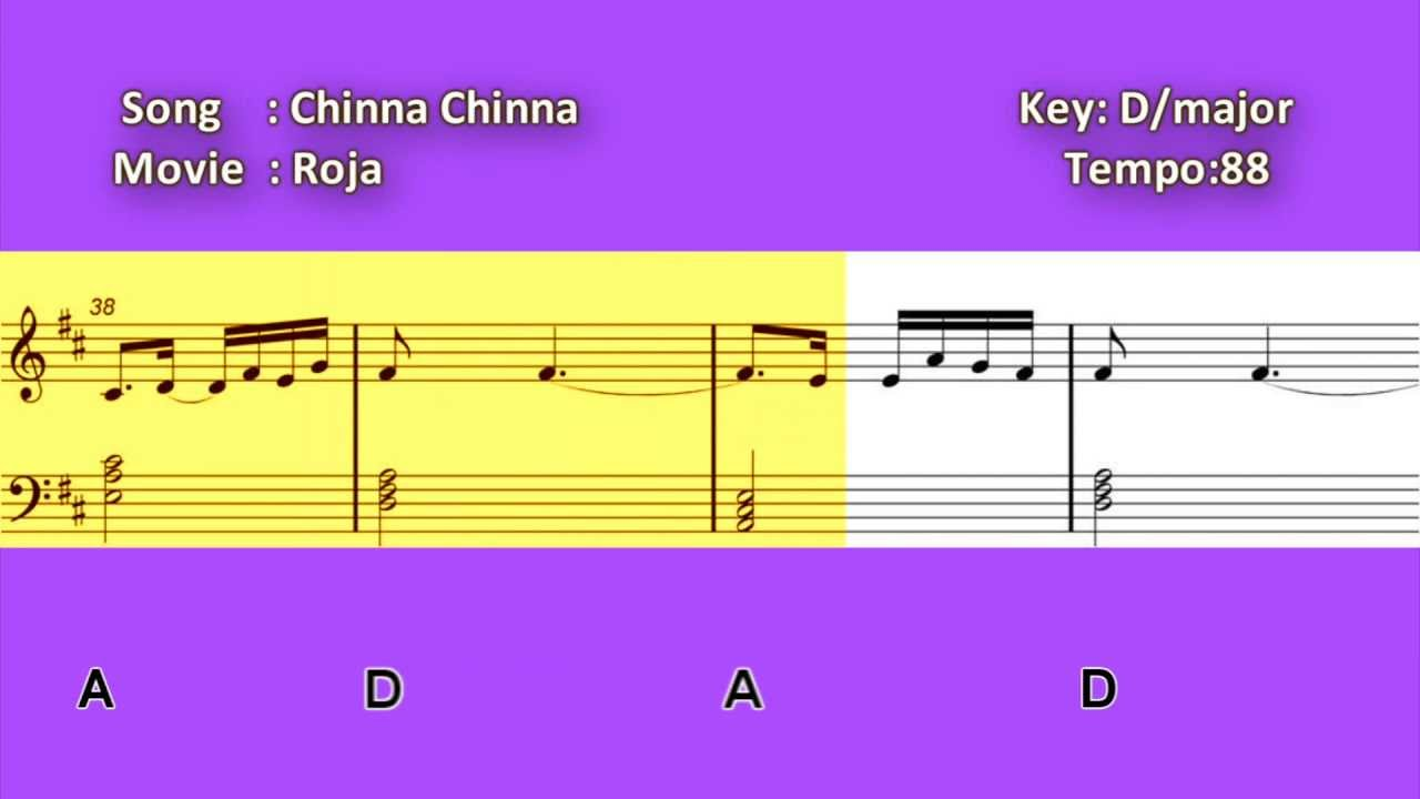 Learn piano notation