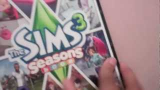 Sims3 seasons unboxing