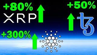 Bullish Crypto News: Bitcoin Rise, Cardano and Tezos to SURGE + Huge News for Ripple (XRP)