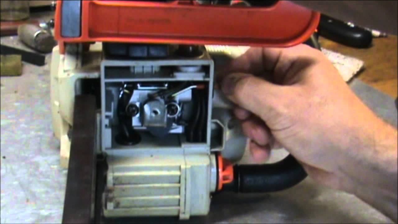 Echo 3000 Chain Saw Carburetor Adjustment Youtube