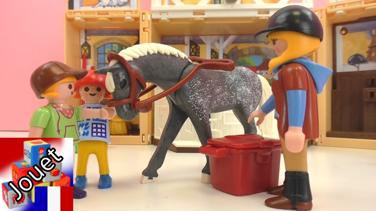 Le film playmobil au centre questre hanna et luisa au centre questre youtube - Chevaux barbie ...