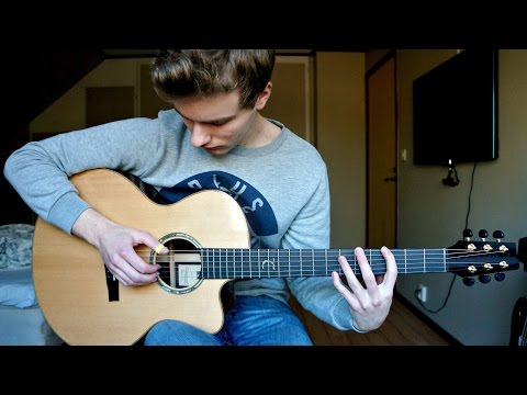 Clean Bandit - Rockabye ft. Sean Paul & Anne-Marie - Guitar Cover (Fingerstyle) | Mattias Krantz
