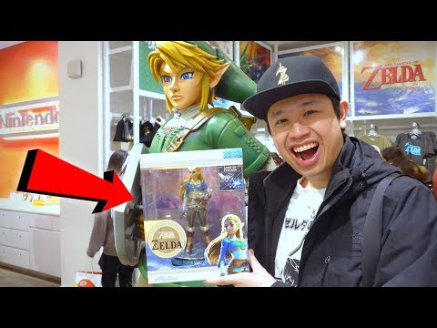 Princess ZELDA Breath Of The Wild COLLECTOR'S EDITION Figure From Nintendo NY Store