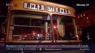 Генеральная репетиция в преддверии Дня Московского транспорта