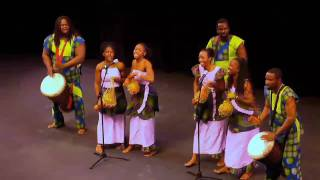 Farafina Kan dance group performing @ the Mother Africa and her Talents 2010 Show.