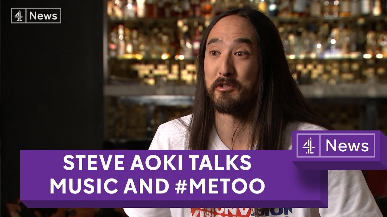 DJ Steve Aoki on music, racism and #MeToo