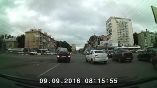 Видеорегистратор PRESTIGIO 525 - дневная съёмка