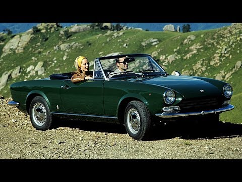 fiat 124 sport spider story year 1966 1985 prima puntata youtube. Black Bedroom Furniture Sets. Home Design Ideas