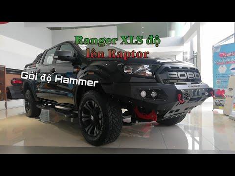 Khi Ford Ranger XLS hoá thành siêu bán tải Raptor nhờ gói độ Hammer xịn xò...
