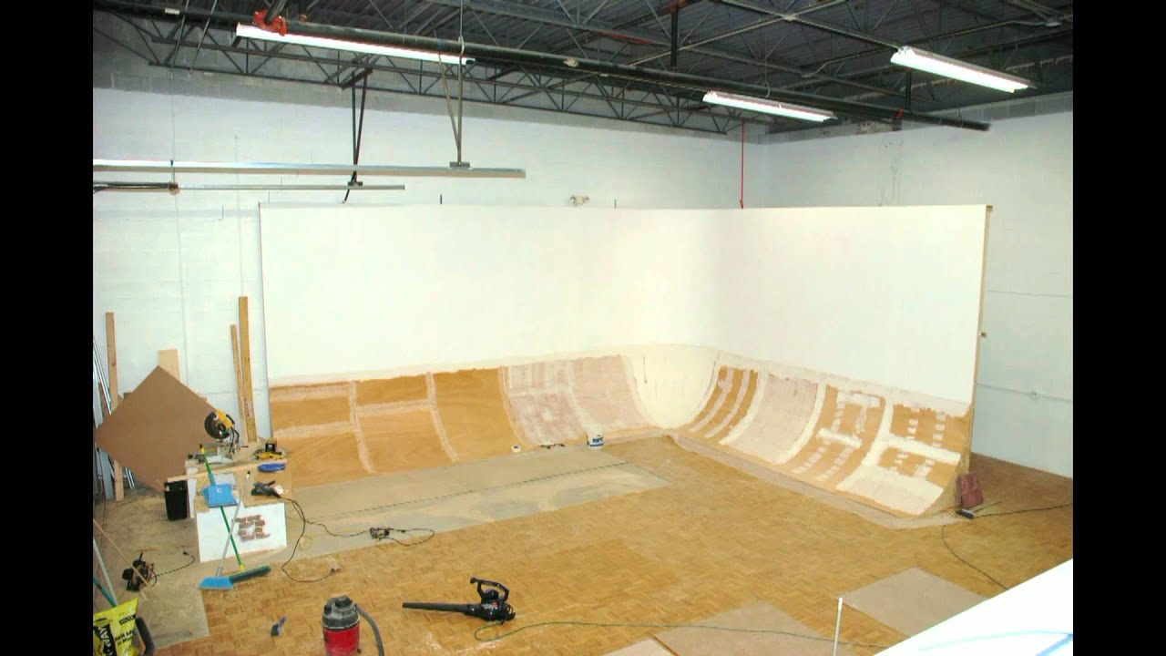 Cyc Wall Construction Slide Show Studio Space West Youtube