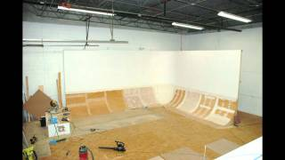 Cyc Wall Construction Slide Show - Studio Space West