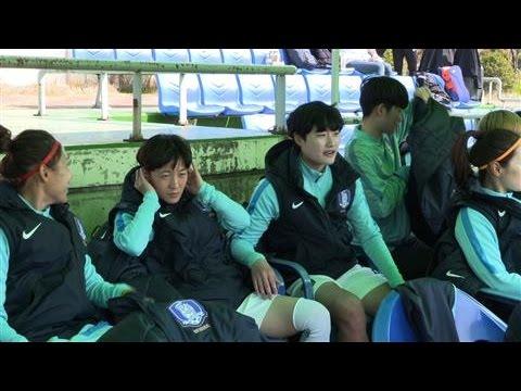 South Korean Women's Soccer Team Turns Up the Noise