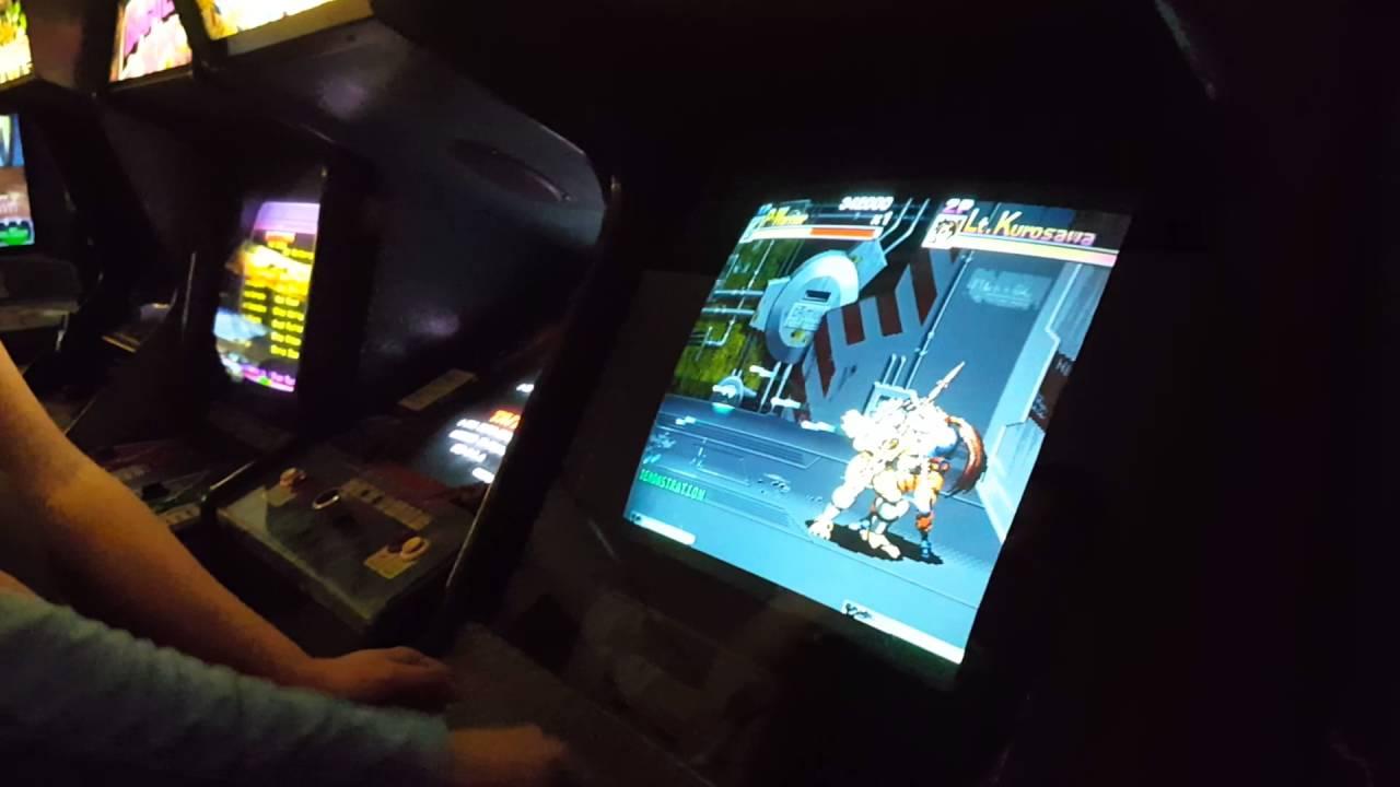 Aliens vs Predator Arcade Cabinet - YouTube