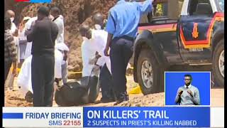 On Killer's Trail: 2 suspects in priest killing nabbed