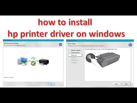 How Download,Install And Setup HP Deskjet 2520/2529hc Printer Driver Easily