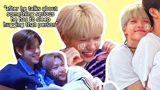 STRAY KIDS felix is a cuddle bug and we should talk about it