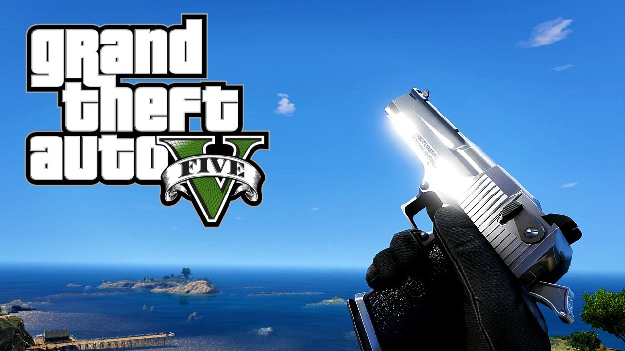 GTA 5 - All Remastered Weapons (First Person) - Reloads, Animations and Sounds