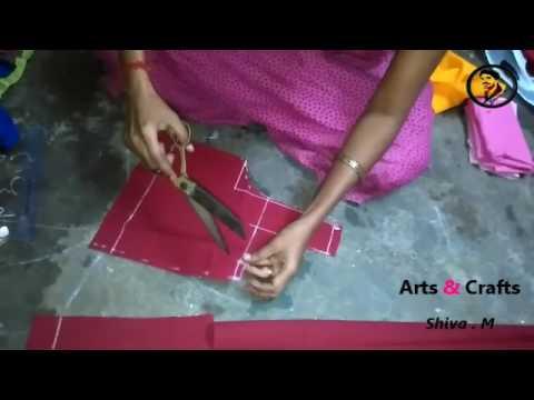 Blouse Cutting In Telugu Youtube