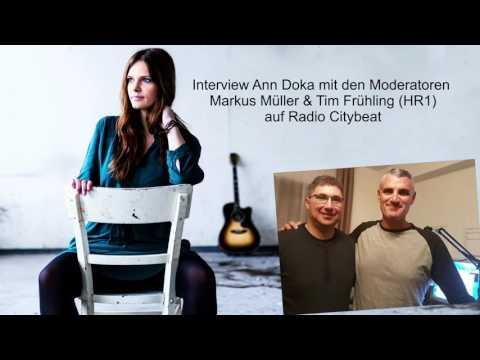 Ann Doka im Interview mit den Moderatoren Markus Müller & Tim Frühling (HR3) / Radio Citybeat