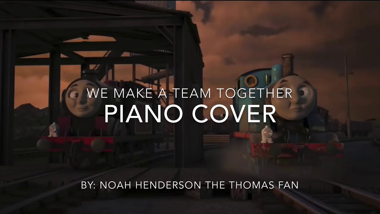 We Make a Team Together piano cover