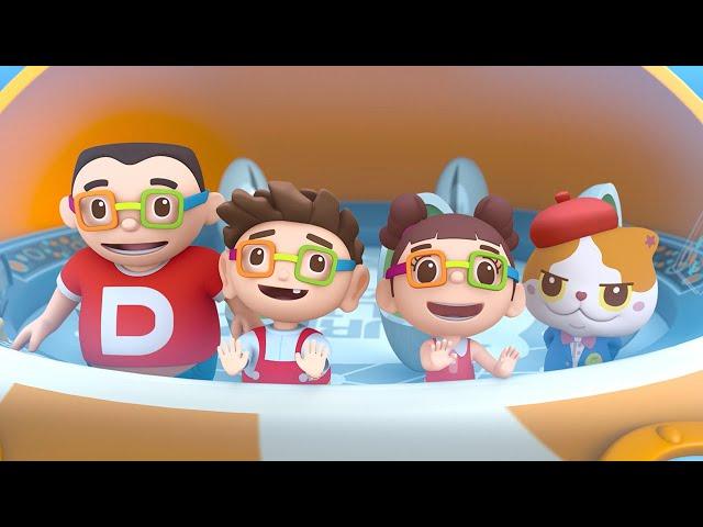 第十九集「海洋合唱團」—【咚咚仔3D動畫系列】第二季