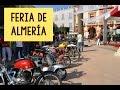 Salida de motos antiguas Feria de Almeria 2014