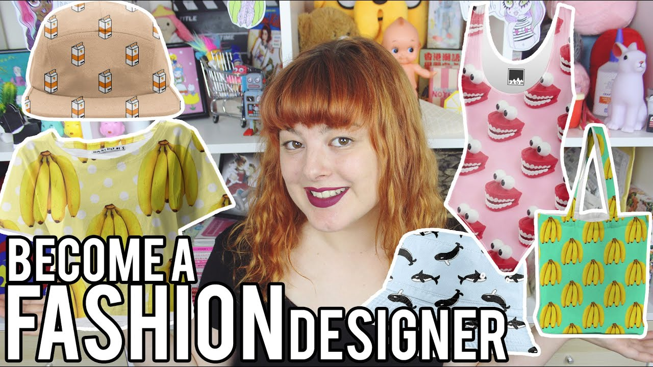 Design Your Own Clothes Tutorial Get Thready With Me