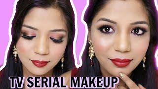 Indian TV Serial Makeup Tutorial   SuperPrincessjo