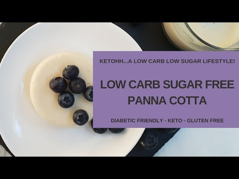 Low Carb Sugar Free Panna Cotta | Ketohh | The Best Easy to Make Keto Dessert