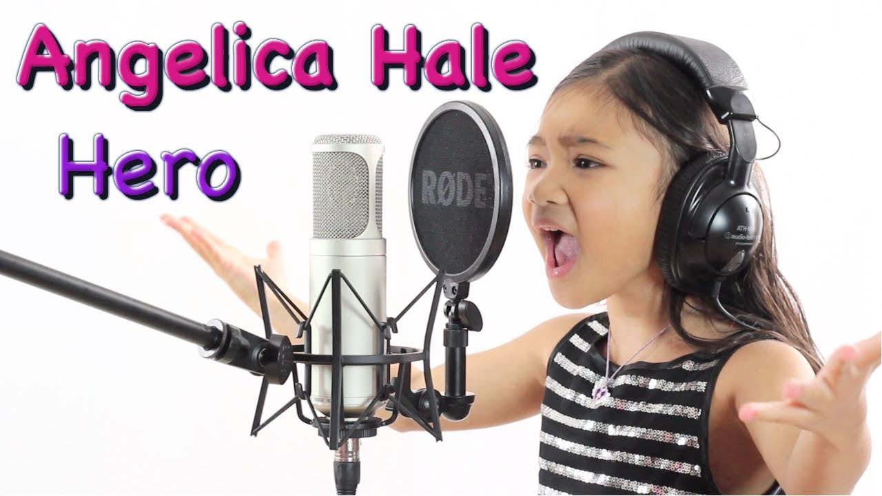 "Powerful Cover by 6 Year Old ""Hero"" (Mariah Carey ..."