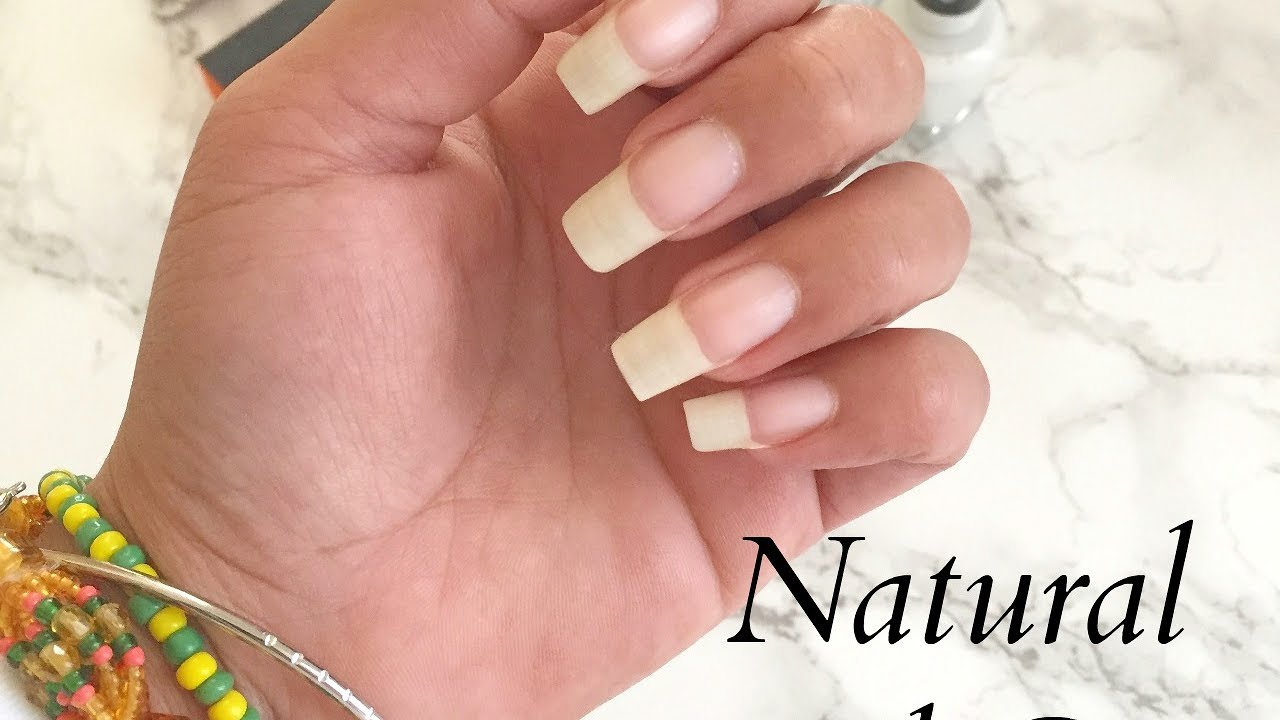 Natural Nail Care Routine + Tips on Growth and Maintenance - YouTube