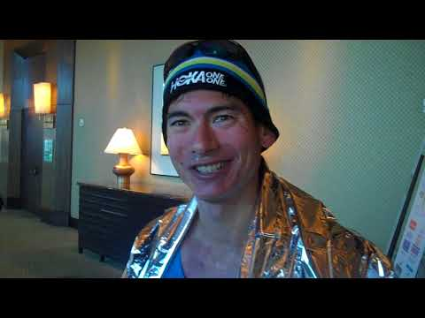 Sage Canaday After Missing Olympic Trials at 2018 Houston Marathon