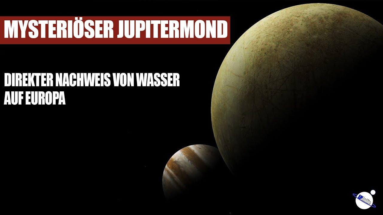 Mysteriöser Jupitermond - Direkter Nachweis von Wasser auf Europa