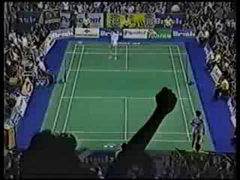 Mia Audina Vs Zhang Ning Uber Cup Final 1994 (part 1)