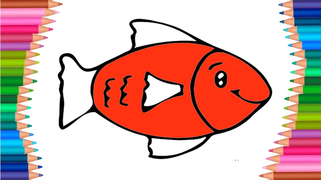 Awesome Fish Images To Color Image - Drawing Coloring - androidharga ...