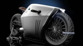 Футуристический концепт мотоцикла BMW Radical Concept
