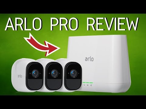 Best Wireless Security Camera System: Arlo Pro Review!