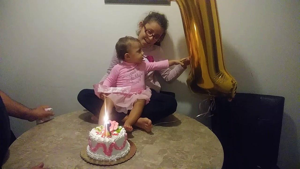 singing happy birthday to my baby sister aleyna pinky pie
