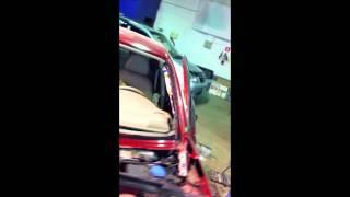 ОД Audi АЦ ''Проспект Мира'' меняет Airbag у молдаван.