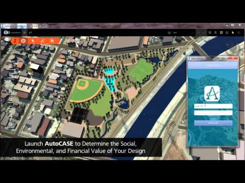 Autodesk Green Stormwater Infrastructure With AutoCASE