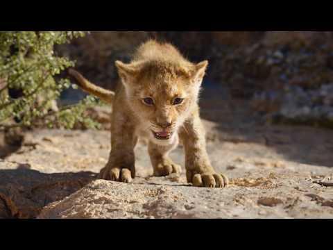 Симба учится рычать, Король лев 2019, отрывок фильма, (Full HD)