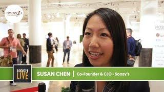 Soozy's Speaks on NOSH Live Experience