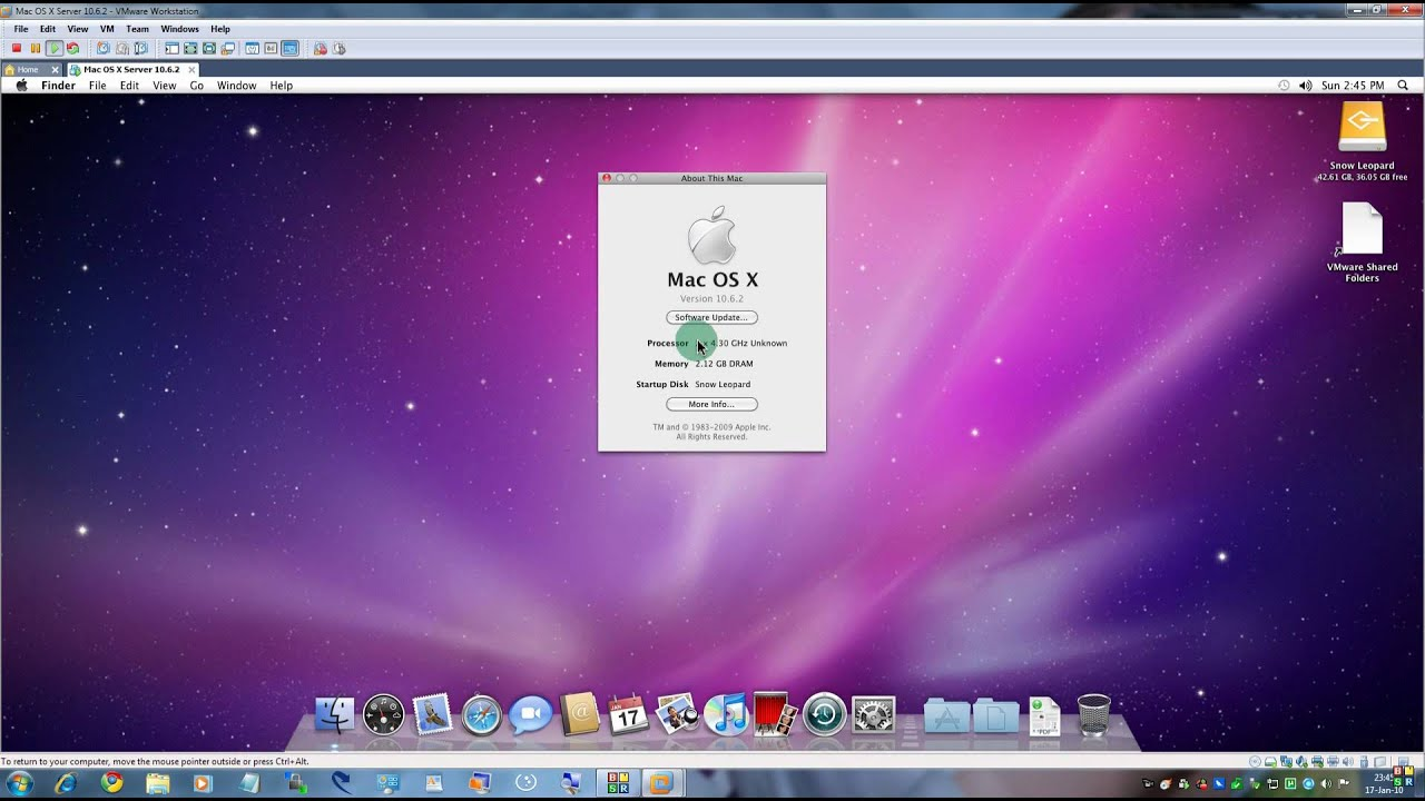 Download MAC OS X Snow leopard ( ) ISO Setup files for ...