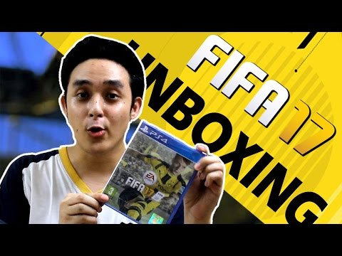 How to Unbox? - FIFA 17 (PS4) Standard Edition Unboxing + Pre-Order Bonus