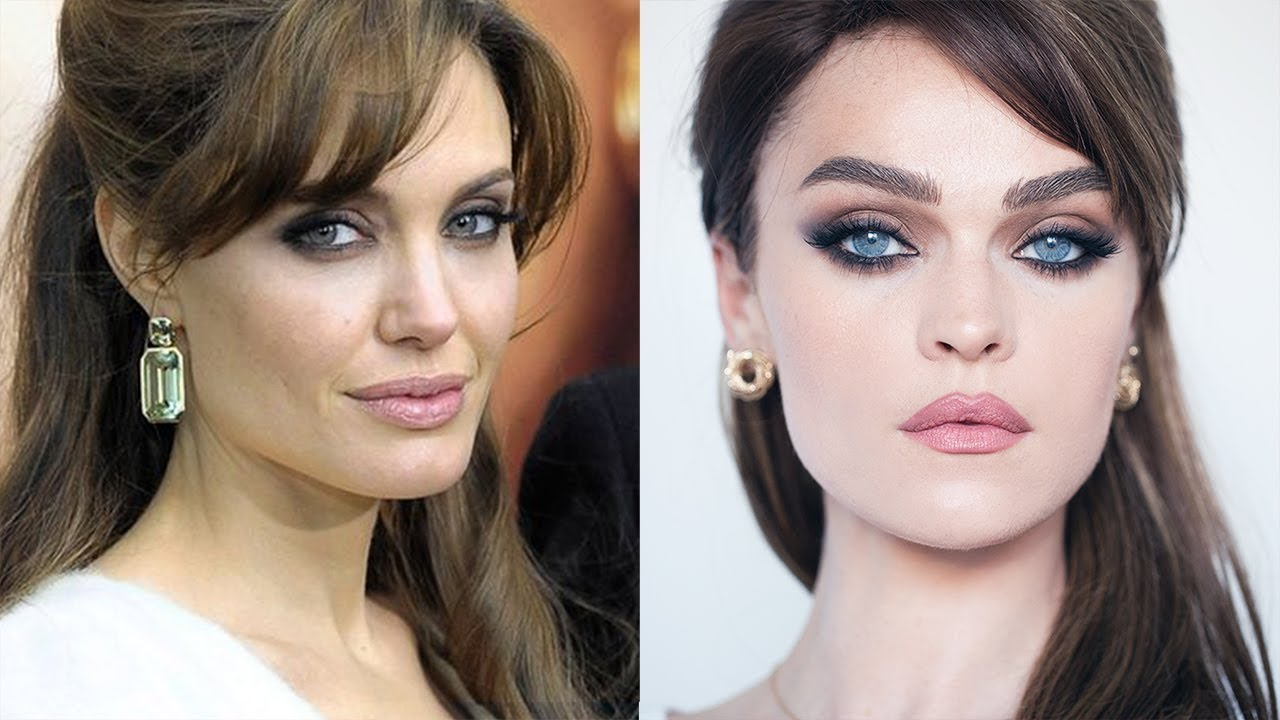 The Angelina Beat Make Up Look Inspired By Angelina Jolie In Tourist Youtube